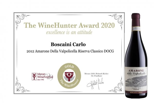 PREMIO THE WINEHUNTER AWARD 2020